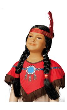Perruque Indienne enfant