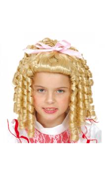Perruque Princesse enfant