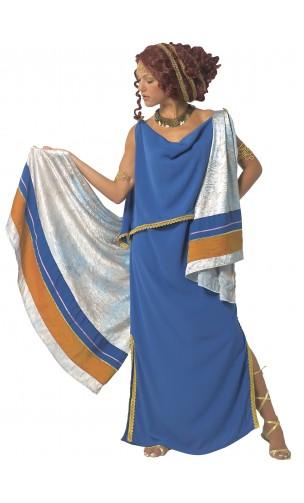 Déguisement robe romaine, grecque avec toge en location