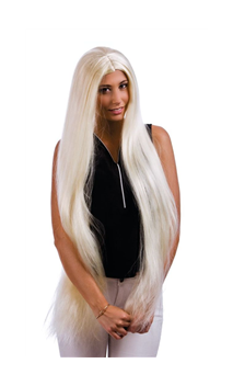 Perruque Morticia Blonde