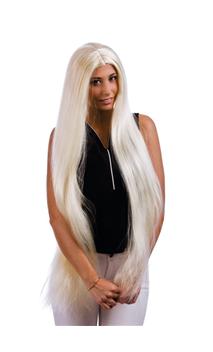 Perruque Morticia Blonde