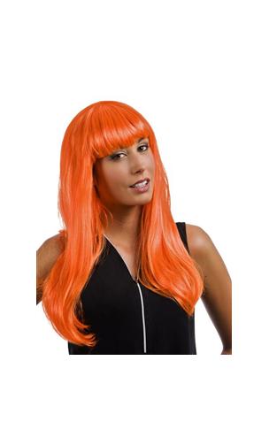 Perruque Lola Orange