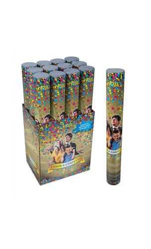 Canon à confettis 40 cm