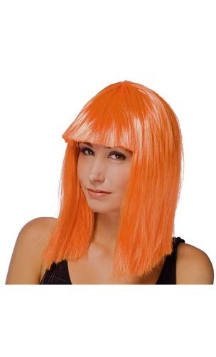 Perruque Star Orange
