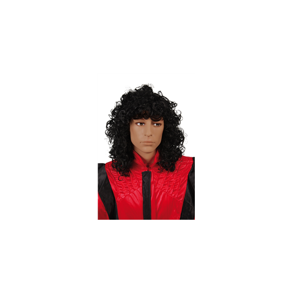 Perruque Michael Jackson