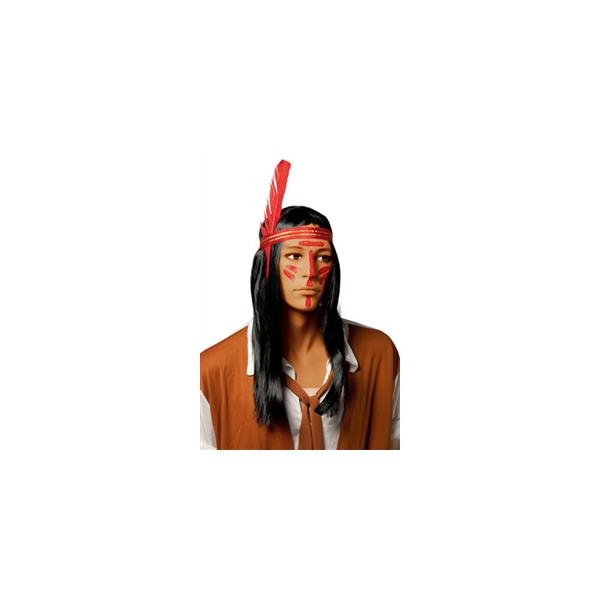 Perruque Indien d'Amérique