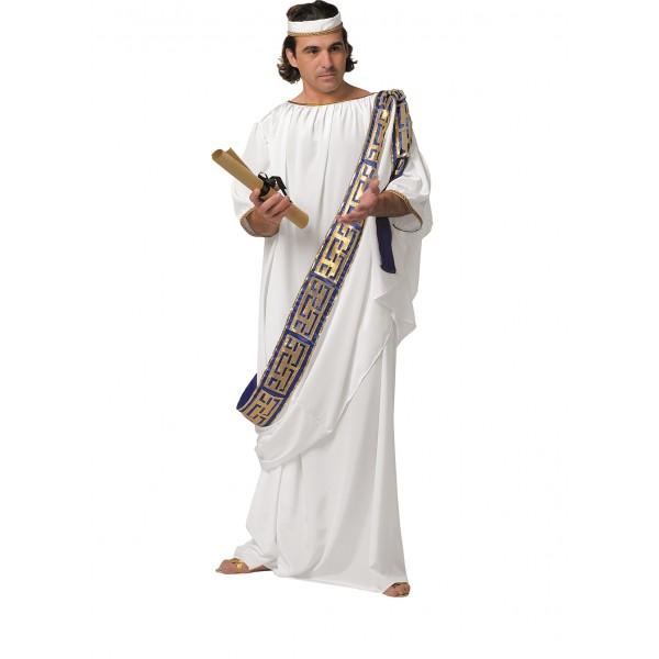 Déguisement toge grecque antique à Paris