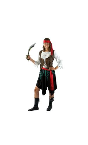 Déguisement Pirate Femme PC