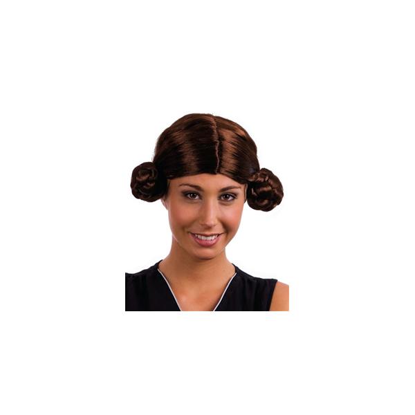 Perruque Princesse Leia