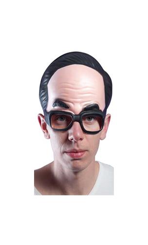 Masque Visage avec Lunettes