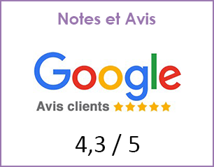 Notes et avis google