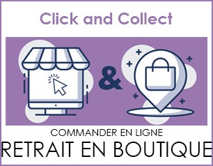 Le retrait en boutique, click and collect